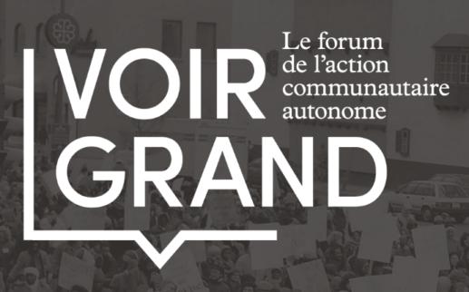 Voir Grand - Le forum de l'action communautaire autonome
